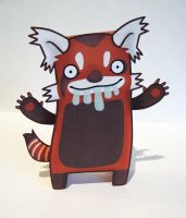 Smazz Paper Toy by creaturekebab