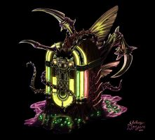 Infested Jukebox by Roskvape