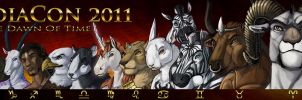 The Twelve Signs of ZodiaCon by c-t-elder