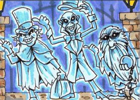 31Cards: Hitchhiking Ghosts by AtlantaJones