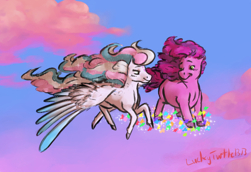 Dancing in the Clouds by LuckyTurtle1313
