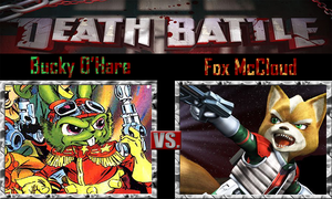 Bucky O'Hare vs Fox McCloud by SonicPal