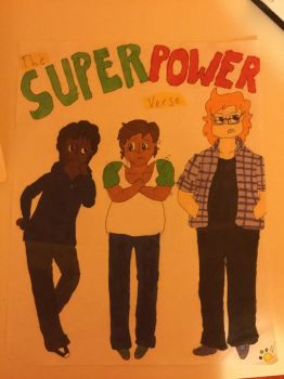IT DEM SUPERPOWER BOIS by Snowflake-the-Cat