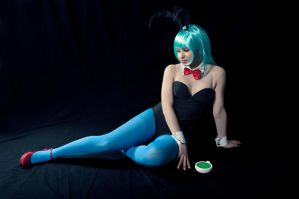 Bulma's reflection by ely707