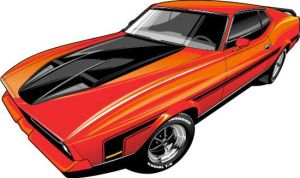 70's MACH1 Mustang by Bmart333