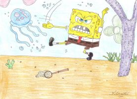 Spongebob Squarepants by ShelandryStudio