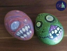 Zombie Eggs by Snaecka