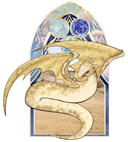 SoC: Jeshir the Flying Sand Serpent by Mifmemo