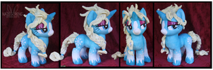 Commission: Snowspell Custom Plush by Nazegoreng