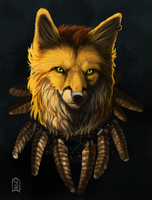 Commission: Fox by Brevis--art