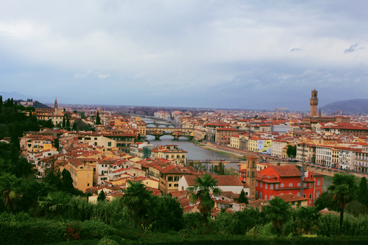 View of Florence! by trialbymagic