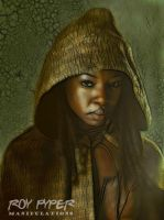 The Walking Dead: Michonne: Fractalius (Ver. 2) by nerdboy69