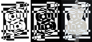 Figure/Ground Reversal + Transparency Assignments by WeeverWolf
