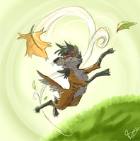 How I Soar by Wolfy-T