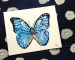 Morpho Butterfly Tangle by MayhemHere