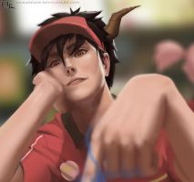 Devils a Part Timer W.I.P by DarkKenjie