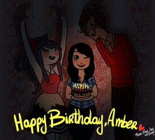 Happy Birthday, Amber! by MaryLittleRose