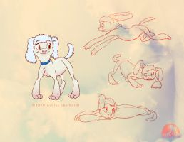 Poodle Pup by katanimate