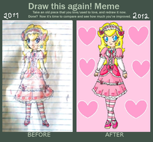 loli peach-before and after by ninpeachlover