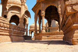 India Abandoned Temples Stock ii by little-spacey
