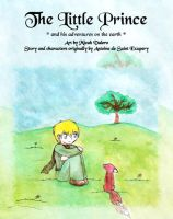 Little Prince comic - title by silverei