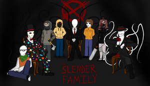 The Slender Family by PuddingMcMuffin