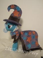 mlp Trixie Plush (alicornradio contest) by Little-Broy-Peep