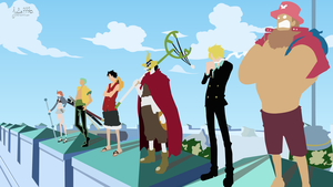 [One Piece] Enies Lobby by Julie7770