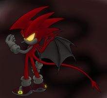 Demon Sonic by Sweecrue