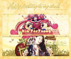[Pack cover] Happy birthday to JaeJoong and Bora by Minta2k1