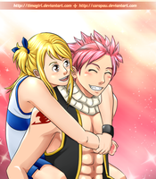 NaLu: piggy-back ride by carapau