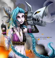 Jinx,  the loose cannon by Nasuki100