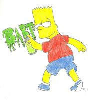 Bart the Bad Boy by TheSimpsonsFanGirl