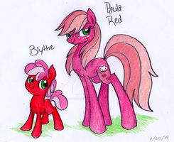 PaulaRed n' Blythe by PitterPaint