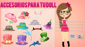 Gorritos para Tus Dolls PNG by MichellEditions