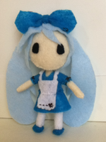 Alice in Musicland Plushie: Miku by ha-nata