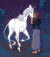 Molly Grue and the Last Unicorn by yinza