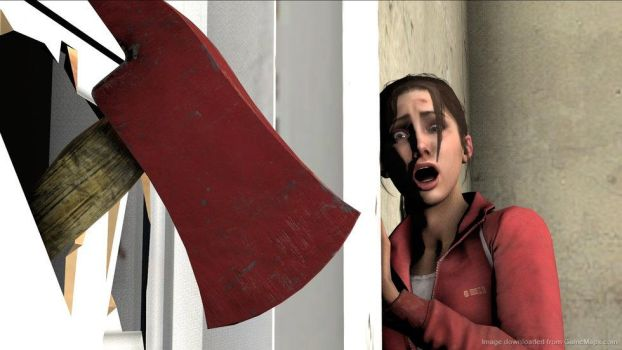 Fire Axe High-fov Fix for Left 4 Dead 2 by Remotary98