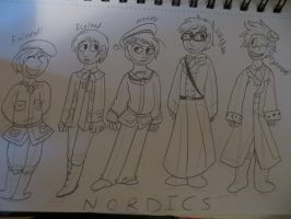 THE MIGHTY NORDICS by LowlyWorm