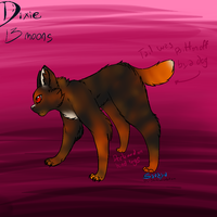 Really quick ref of my OC Dixie by Shy-Storm