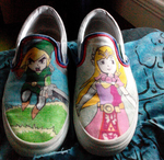 Legend of Zelda Shoes by Wolven--Shadow