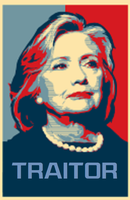 Hillary Clinton  traitor by bagera3005
