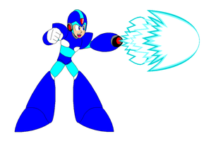 MMX1 weapons: X buster by DanmanX5792