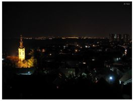 Distant lights by Terza
