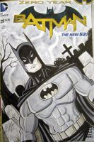 Batman Sketch Cover by calslayton