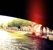 Underneath a bridge,there must be water? by jessyfofys