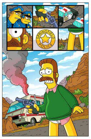 'Breaking Bad' Simpsons Parody by paulwilliamsart