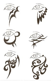 eye tattoos 2 by icemo