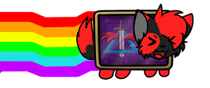 {C} Blade Nyan Cat! by KittenthePsycho