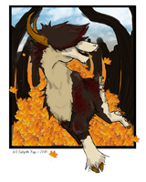 Feeling Fall Around Me by painted-wolf-art